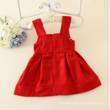 princess cotton pinafore dress children nylon clothes for 1Y cutie clothes for little baby girls big flower appliqued dresses