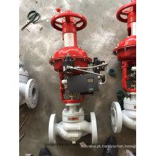 Válvula de controle de fluxo de diafragma pneumático tipo globo (HTS)