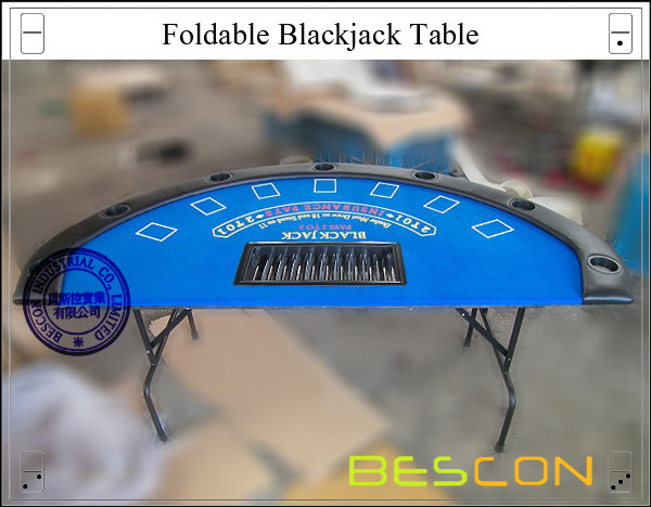 Foldable Blackjack Table-2
