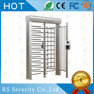 Smart Residential Gate Full Height Turnstile System