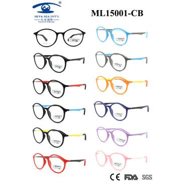2015 The New Memory Plastic Fashion Kid Optical Frame (ML15001)