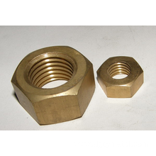 Carbon Steel Brass hex nut M8 din934