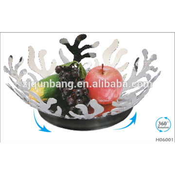 2015 Strange and Beautiful Shape Practical Household Stainless Steel Fruit Plate
