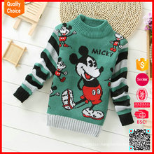 New arrival high quality fashion baby pullover knit sweater