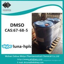 China CAS: 67-68-5 DMSO grado farmacéutico sulfóxido de metilo