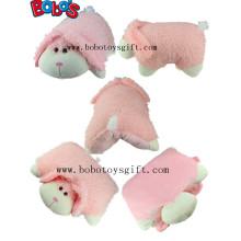 Подушка для тела с подушкой из плюша фаршированная подушка для путешествий кролика для задней части талии шеи