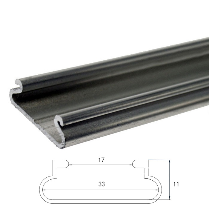 1.2mm Greenhouse Film Aluminum Locking Channel