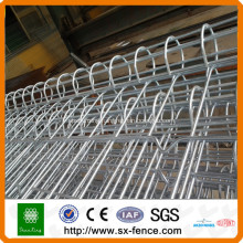 hot-dipped galvanized double loop fence