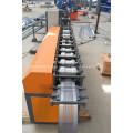 Galvanized roofing sheet roller shutter door slat forming machine