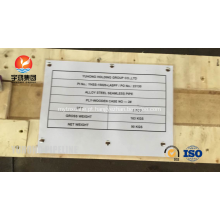 Tubulação sem emenda de aço de liga ASTM A335-P11