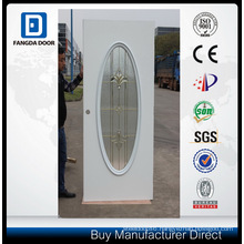 Fangda Eco Galvanized Steel Glass Door