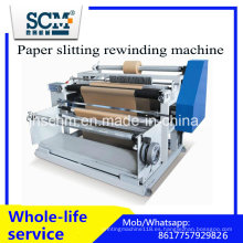 Máquina de rebobinado de papel de corte longitudinal / Máquina de corte automática de papel térmico