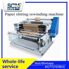 Бумага разрезая перематывая машина / автоматическая термально бумага разрезая машину