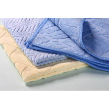 Microfiber  jacquard weave  cleaning cloth
