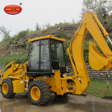 Teknologi Eropa Tunnel Rock Backhoe Loader