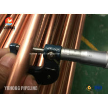 Seamless Copper Tube JIS H3300 C1220T 1/2H For Heat Exchanger