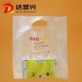 Clear Gift Shopping Die Cut Plastic Bag