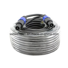 100ft 12AWG Speakon to Speakon Speaker Cable