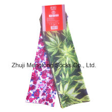 2016 Fashion Lady Digital Printing Socks