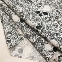 Tela de impresión Ramie para la ropa