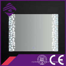 Jnh220 Saso Rectangle étanche miroir de salle de bains avec lumière LED