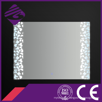 Jnh220 Saso Rectangle Waterproof Bathroom Mirror with LED Light