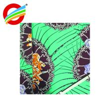 tela de impresión súper deluxe de cera africana verdadera al por mayor