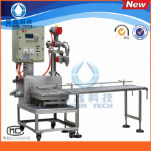 Single Head Anti-Explosion Automatic Liquid Filling Machine with Conveyor