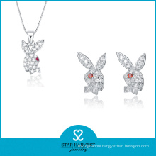 Friendship 925 Sterling Silver Jewelry Set with Customed Design (J-0158)