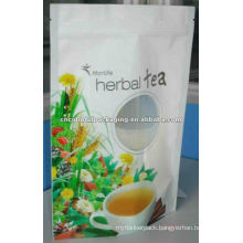beverages packaging,stand up flower tea pouch,juice package