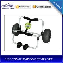 Aluminum canoe and kayak carrier, Marine canoe trolley, Easy folding canoe trolley