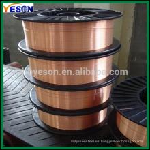 Mig de soldadura de alambre ER70S-6 CE Certificación ISO Fabricante China