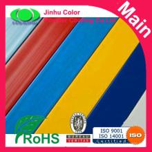 Revêtement en poudre en polyester extérieur en aluminium Ral couleur