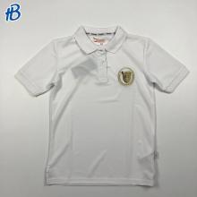 chemises de sport de campus blanches ajustées sur mesure