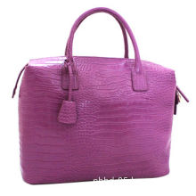 Fashionable women's alligator genuine leather bags