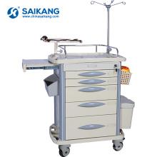 SKR-ET311 Chariot de service de traitement d'instrument d'ABS d'hôpital