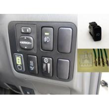 Toyota Tacoma 2005-2014 Kit interruptor de luz antiniebla Switch Connector & Wire)
