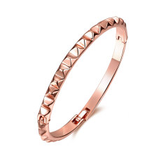 Bracelet homme 18k Rose Gold Design Simple