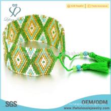 Женские богемы обернуть бисером браслеты, богемный стиль ювелирных изделий