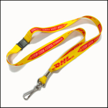 Customized Printing Logo Polyester Breakaway Safety Custom Lanyards for ID Badges