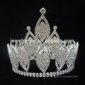 Coroa de tiara de cristal