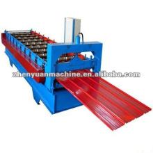 Máquina de formação de rolo de painel de telhado de costura permanente