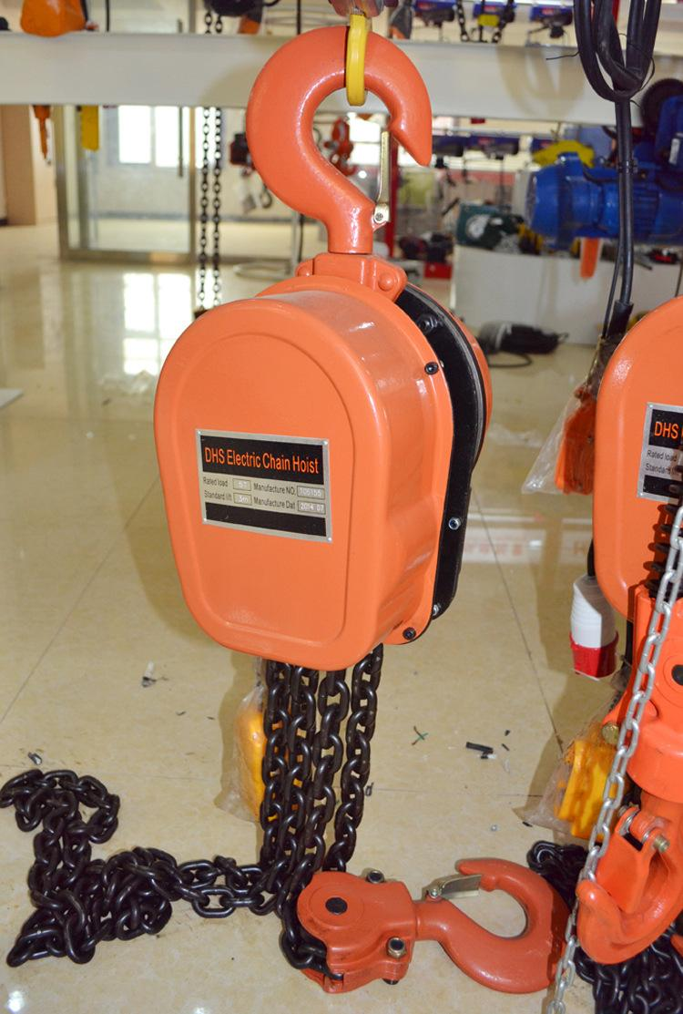 380 volt electric chain hoist