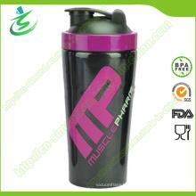 Shakers à protéines en acier inoxydable sans emballage sans alcool BPA (SS-A1) de 750 Ml