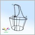Home Garden decoration powder coated antique metal wire flower stand