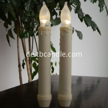 Bright LED taper candle
