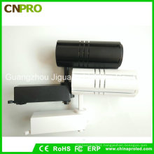 COB 30W LED Track Light Black with White Housing for Commercial
