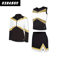 Ozeason Customized Brand Dye Sublimation Girl Cheerleading Uniform