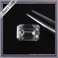 6.5X5mm 1.0 Carat Emerald Cut Vvs Clarity D-F Color Moissanite Diamond for Sale