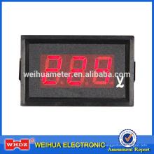 Digital Panel Meter PM50 con parámetro Diseño personalizado con instalación de perforación